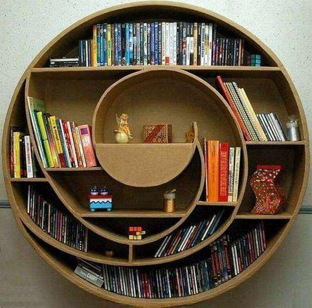 20 Дивних предметів меблів з картону