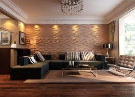 3Д панелі для стін: вибір і монтаж