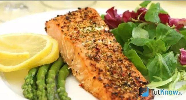 Приклад обіду по дієті Аткінса