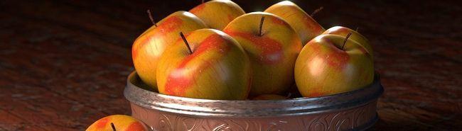 З яблуками