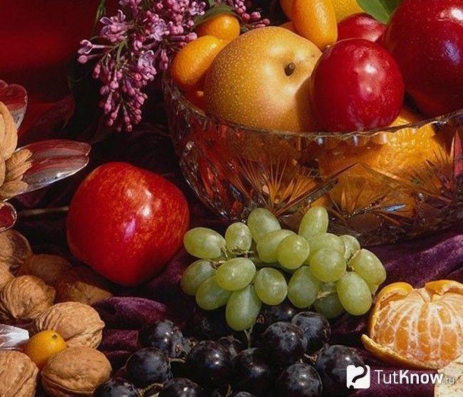 Продукти, в яких містяться вітаміни С і Е