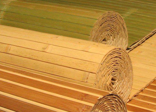 бамбукові шпалери