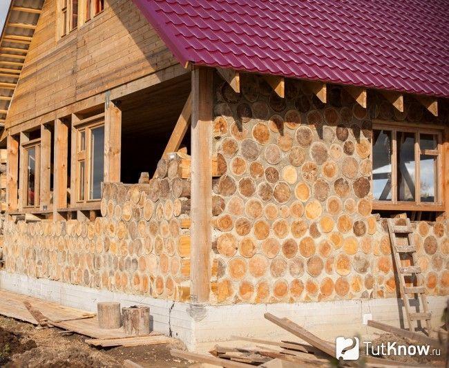 Будівництво лазні з гліночуркі