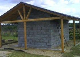 Баня з керамзитобетонних блоків: технологія будівництва