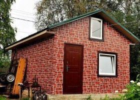 Баня з цегли: технологія будівництва