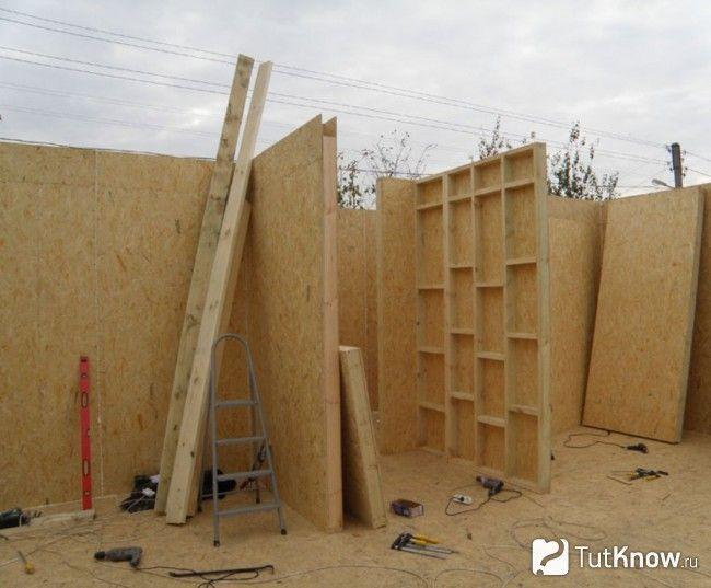 Будівництво лазні з СИП-панелей