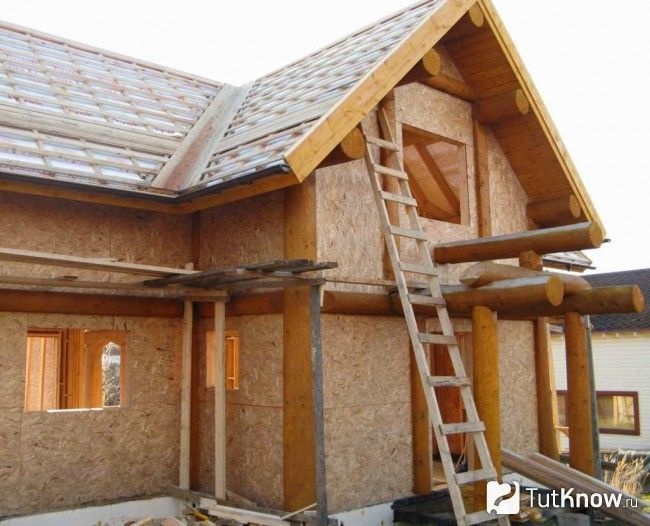 Будівництво щитової лазні на дачі