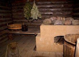 Баня на дровах своїми руками