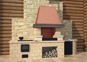 Баня з барбекю: технологія будівництва