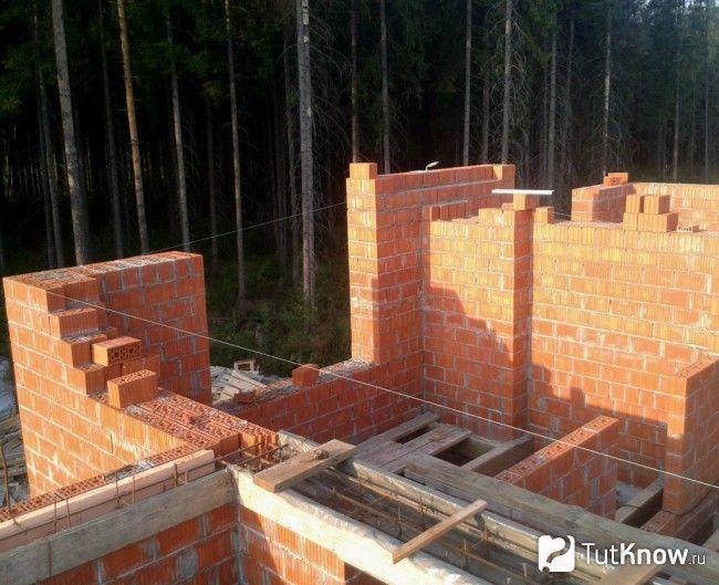 Будівництво цегляної лазні