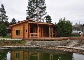 Баня з альтанкою: технологія будівництва