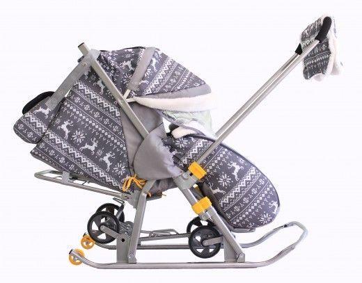 З якого віку дозволено використання санок-коляски?