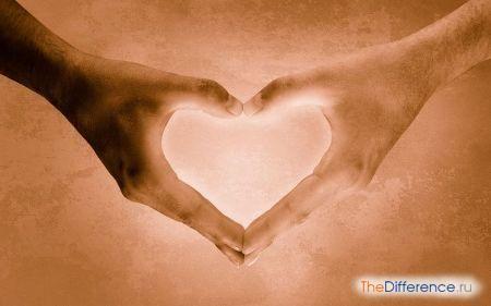 відміну любові від закоханості