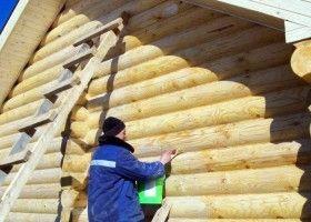 Чим обробити дерев`яну лазню