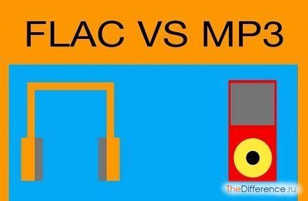 відміну flac від mp3
