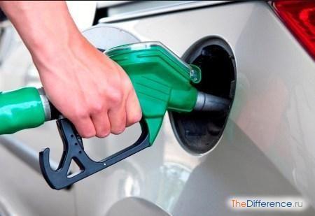 відміну крекінг бензину від бензину