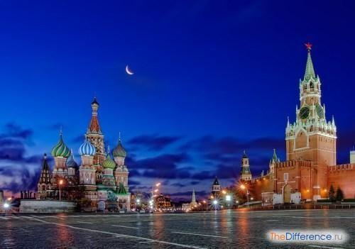 відміну Пітера від Москви