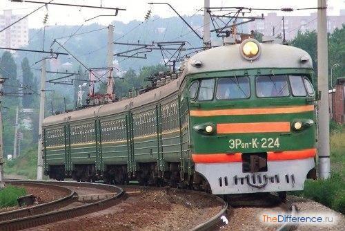 Чим відрізняється поїзд від електрички?