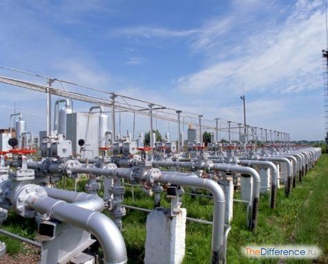 чим відрізняється попутний газ від природного