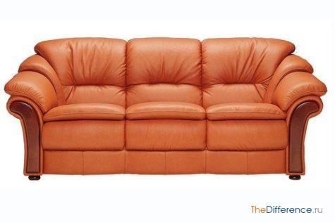 відміну софи від дивана