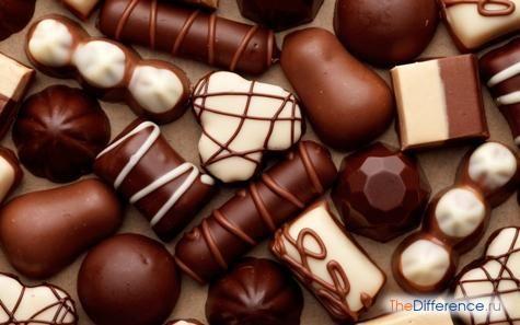 чим відрізняються цукерки від карамелі