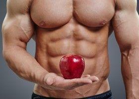 Спортсмен з яблуком