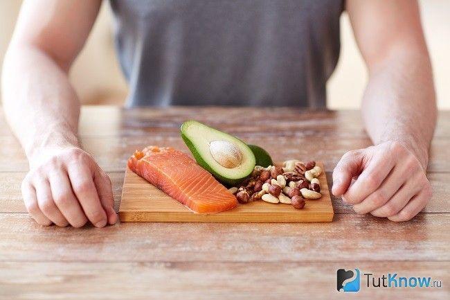 Продукти, що містять жирні кислоти