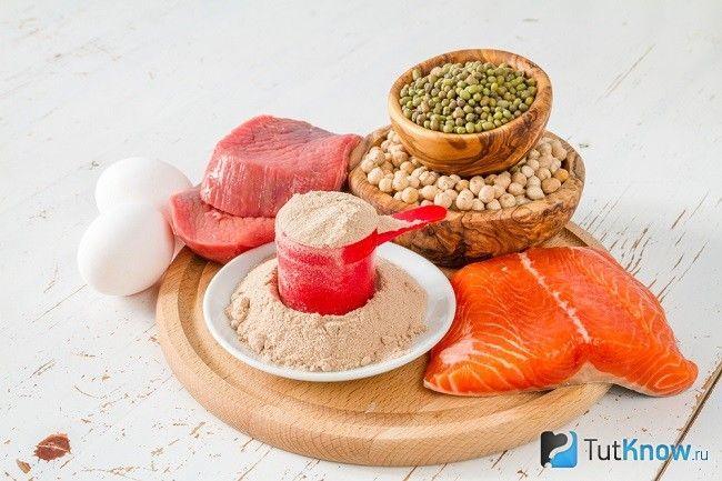 Червона риба, м`ясо, протеїн в порошку