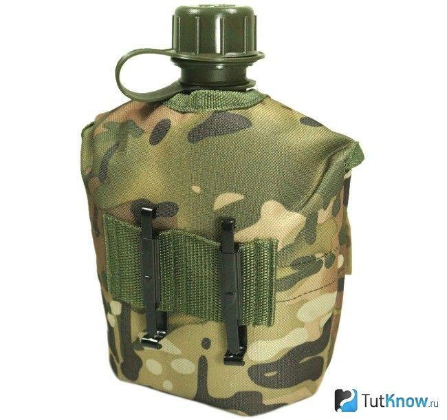 Армійська фляга на подарунок колегам до 23 лютого
