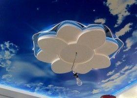 Квітка з гіпсокартону на стелю: інструкція з виготовлення