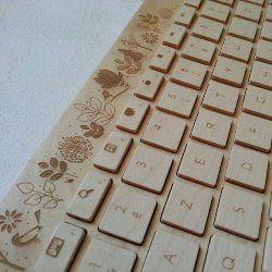 Дерев`яна клавіатура - нове творіння західних фахівців