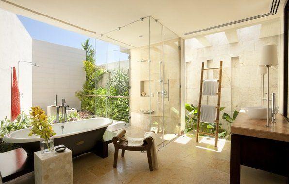 Дизайн просторої ванної кімнати