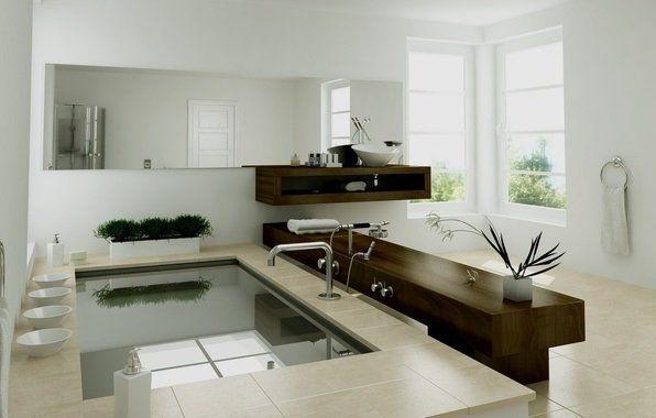 Фото ванної кімнати з дизайном - мінімалізм