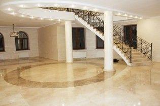 Палацовий стиль в інтер`єрі - підлога з мармуру