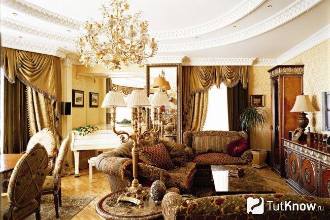 Палацовий стиль в інтер`єрі фото