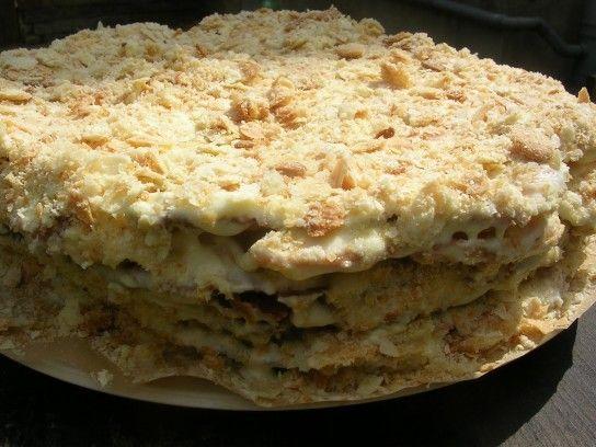 Торт наполеон відео рецепт