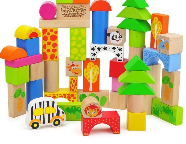 Будівельні іграшки для дітей - кубики