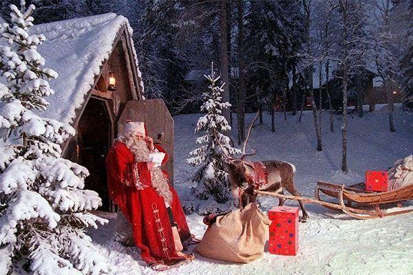 Новий рік 2018 у Лапландії