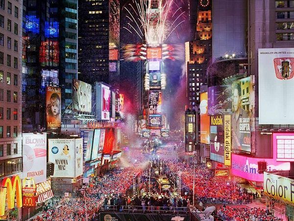 Новий рік 2018 у Нью-Йорку
