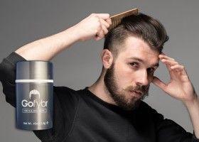 Gofybr від лисини - будівельні волокна для волосся