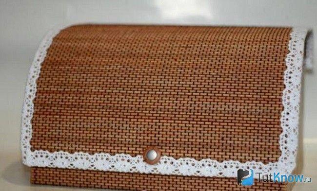 Хлібниця з картону