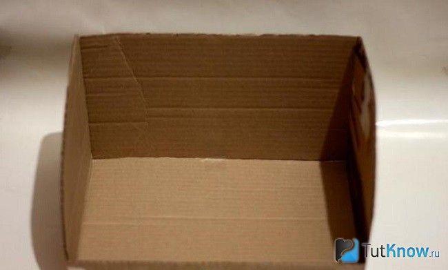 Основа картонної коробки для хлібниці