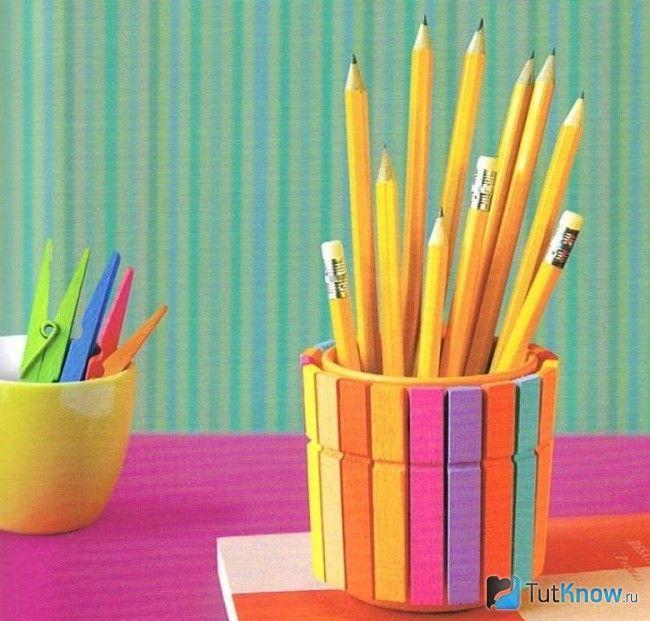 Оригінальна підставка для олівців