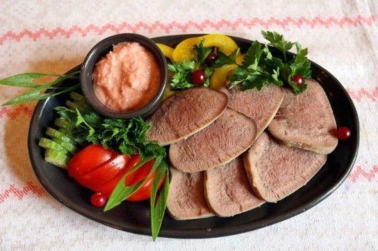 Мова яловичий - рецепти в духовці