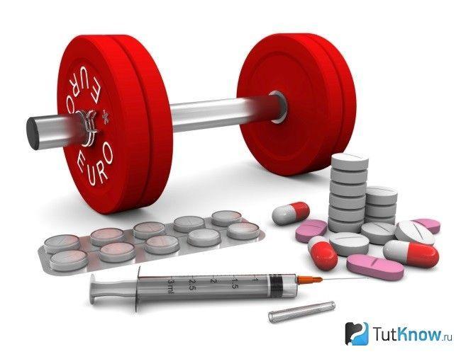Препарати допінгу в спорті
