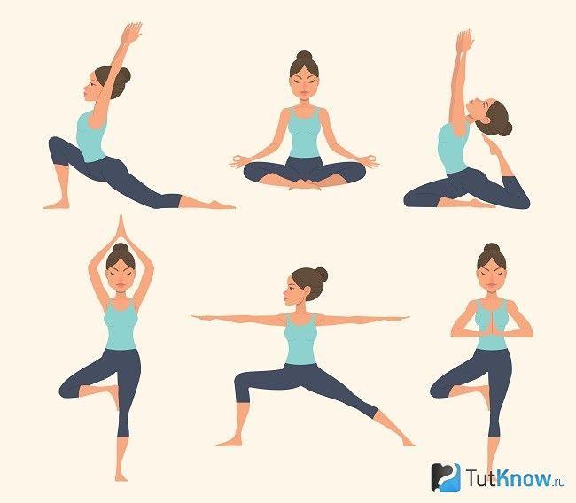 Комплекс вправ йоги