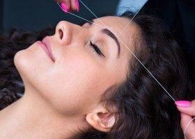 Як робити епіляцію на обличчі ниткою