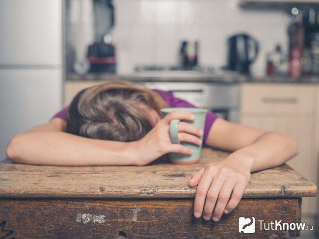 сильна втома