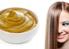 Як робити маску для волосся з гірчицею в домашніх умовах