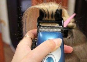 Як робити полірування волосся